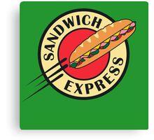 sandwich express Canvas Print