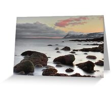 Icy Calm Greeting Card
