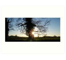 Countryside Setting Art Print