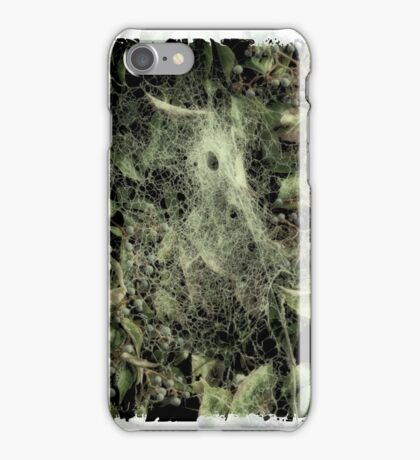 Come into my parlour ... iPhone Case/Skin