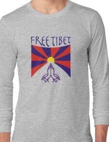 Free Tibet Shirt Long Sleeve T-Shirt