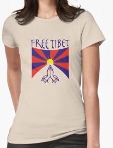 Free Tibet Shirt Womens Fitted T-Shirt