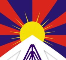 Free Tibet Shirt Sticker