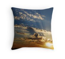 Refracted Color Throw Pillow