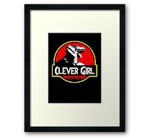 Clever Girl II Framed Print
