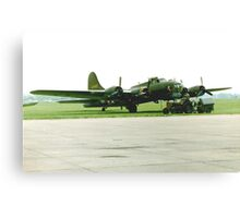Flying Fortress B17 Canvas Print