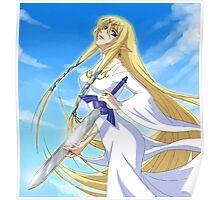 Goddess Hylia and Master Sword Poster