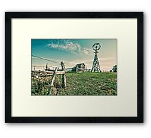 Where The grass is always Green Framed Print