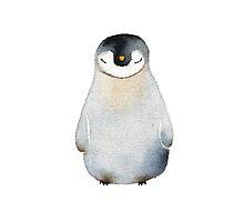 Cute animal No.2 Shy Penguin by jjsgarden