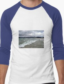 Rain Clouds and Ocean Waves - Isle of Harris Men's Baseball ¾ T-Shirt