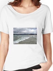 Rain Clouds and Ocean Waves - Isle of Harris Women's Relaxed Fit T-Shirt