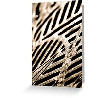 Oh Grate Greeting Card