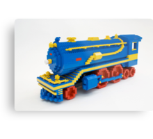 LEGO Train Engine Metal Print