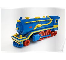 LEGO Train Engine Poster