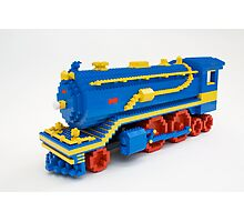 LEGO Train Engine Photographic Print
