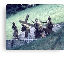 Station of the Cross Canvas Print