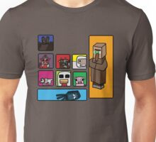 Minecraft Peaceful Mobs Unisex T-Shirt