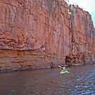 The Paddlers - Katherine Gorge, Nitmiluk NP  Northern Territory by Adrian Paul