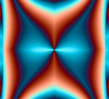 Fancy fractal Sticker