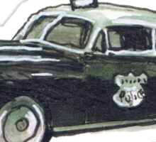 Cop Car Sticker
