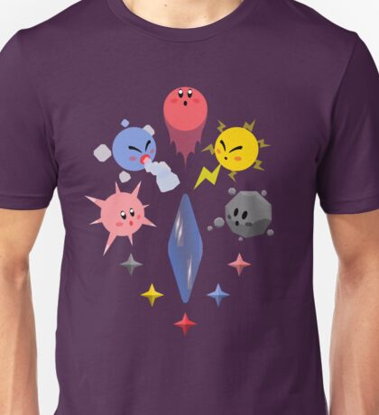 Kirby Shard Powers Unisex T-Shirt