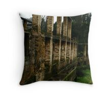 Fragile Reality Throw Pillow
