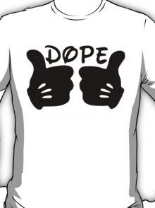 Dope Thumbs Up [Black] T-Shirt