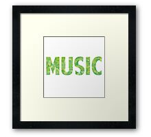 Watercolor Music 2 Framed Print
