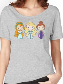 Thumbelina, Odette, and Anastasia - Lil' CutiEs Women's Relaxed Fit T-Shirt