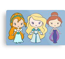 Thumbelina, Odette, and Anastasia - Lil' CutiEs Metal Print