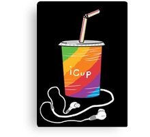 iCup Canvas Print
