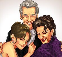 Missy, Clara and the Doctor by MissAinley