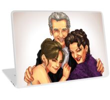 Missy, Clara and the Doctor Laptop Skin