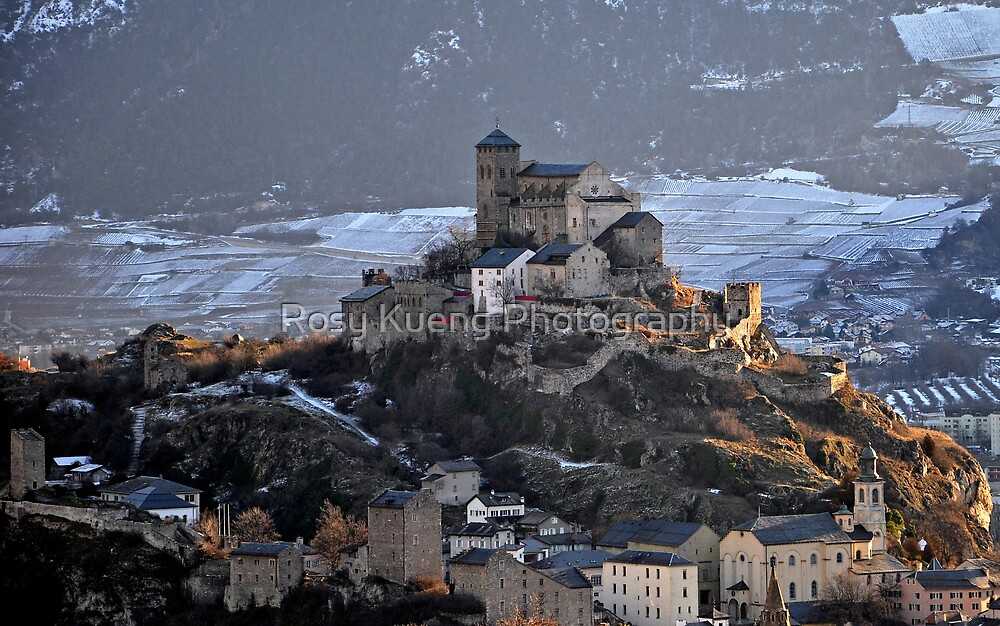 Church-Fortress of Valere  by Rosy Kueng