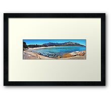 Trousers Point and the Strezlecki range Framed Print