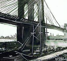 New York Bridge by Tristan Klein