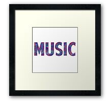 Watercolor Music 3 Framed Print