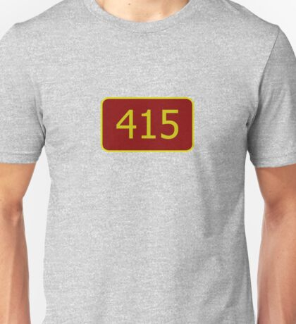 415 (San Francisco) Unisex T-Shirt