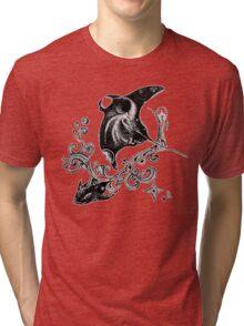 Space ocean Tri-blend T-Shirt