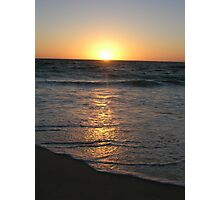 Sunset on the Indian Ocean Photographic Print