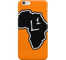 The Haplogroup in You - L1 iPhone Case/Skin