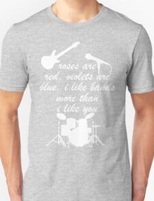 I Like Bands i'd love Music Funny Geek Nerd T-Shirt