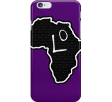 The Haplogroup in You - L0 iPhone Case/Skin