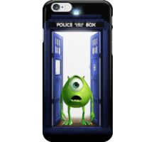 Tardis Monster inc iPhone Case/Skin