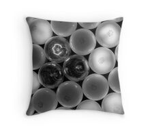 finding your friends in crowded places Throw Pillow