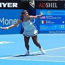 Serena leads by andreisky