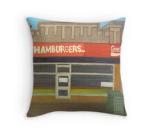 Hamburgers... Throw Pillow