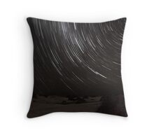 Birubi Beach Star Trails Throw Pillow
