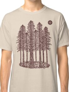 Cathedral Grove (Coastal Redwoods) Classic T-Shirt