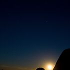 """Moonrise at """"The Horn"""" by Neil"""